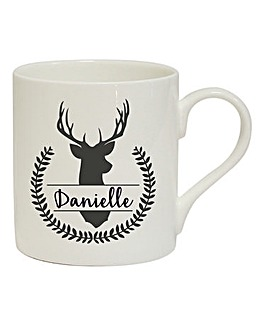 Personalised Stag Mug