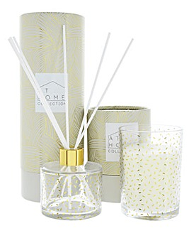 Cocktail Party Diffuser Candle Gift Set