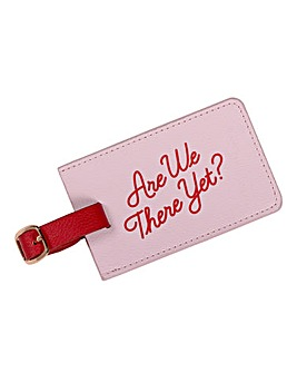 Yes Studio Are We There Yet? Luggage Tag