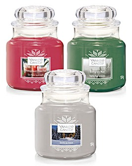 Yankee Candle Christmas Trio