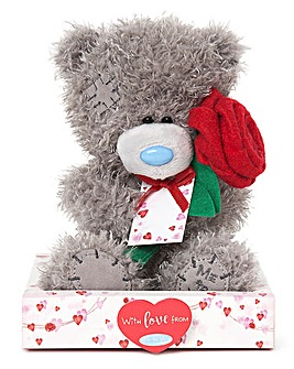 Me To You Plush with Red Rose