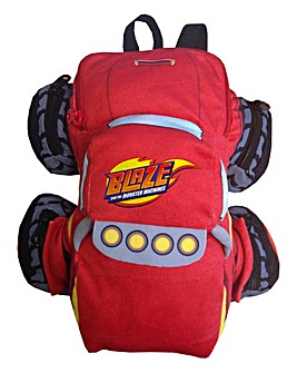 Blaze Truck Plush Backpack
