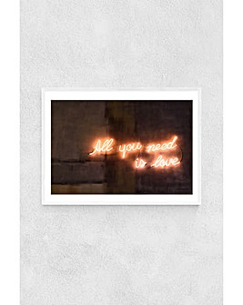 East End Prints All You Need is Love Art Print