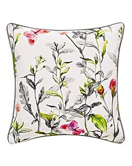Botanical Butterfly Cushion