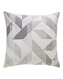 Mark Making Geometric Cushion