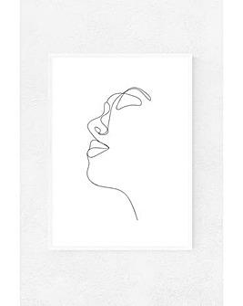East End Prints Profile by Rafael Farias Art Print