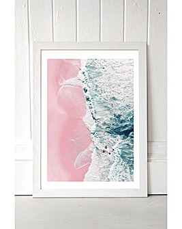 East End Prints Sea of Love II by Ingrid Beddoes Art Print