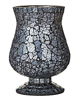 Smokey Mosaic Candle Holder