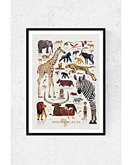 East End Prints African Wildlife by Dieter Braun Art Print
