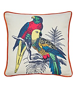Bold Parrot Cushion