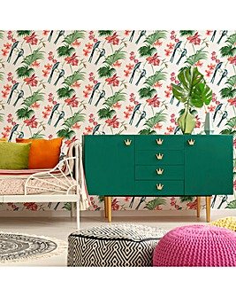 Utopia Pearl Floral W/Paper