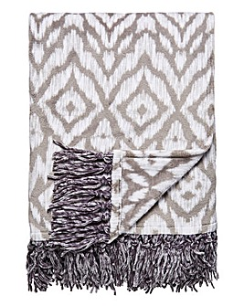 Supersoft Azrec Fringe Throw
