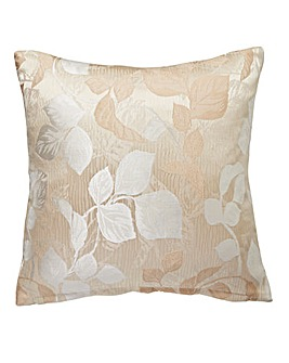 Ruby Jaquard Filled Cushion