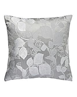 Ruby Jaquard Filled Cushion