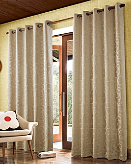Orla Kiely Climbing Daisy Long Length Eyelet Curtains