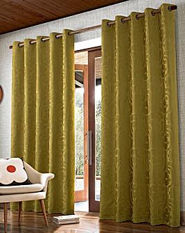 Orla Kiely Climbing Daisy Long Length Eyelet Curtains