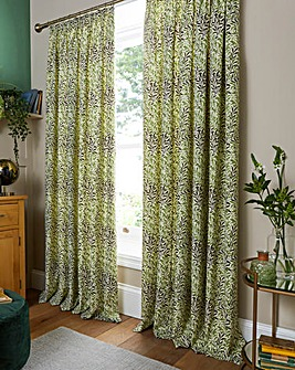 William Morris Willow Lined Curtains