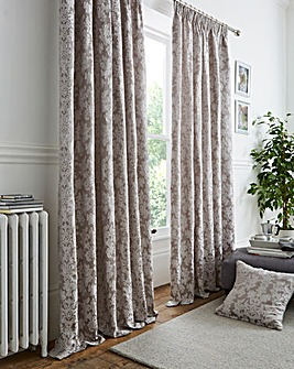 Tuscany Textured Pencil Pleat Curtains
