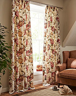 Carnaby Lined Long Length Curtains
