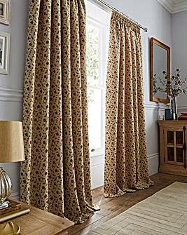 Rosa Tapestry Heavyweight Curtains