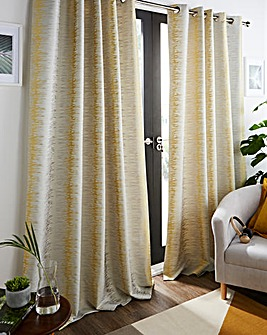 Sienna Eyelet Long Length Curtains
