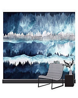Art for the Home Horizon Midnight Landscape Mural