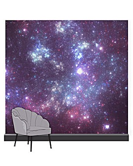 Art for the Home Constellation Aurora Purple Mural