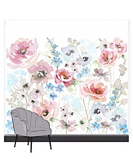 Art for the Home Fleur Spring Pastel Floral Mural