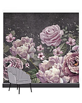 Moody Blooms Wall Mural
