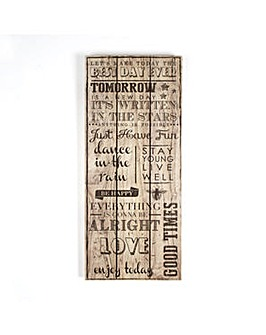 Art for the Home Best day Ever Print on Wood Wall art