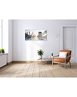 Arthouse Hand Painted NYC Canvas