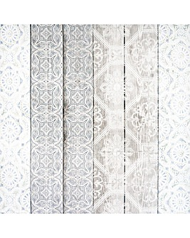 Arthouse Morrocan Wood Natural Wallpaper