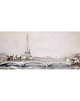Arthouse Paris Scene Canvas