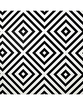 Arthouse Geo Diamond Mono Wallpaper