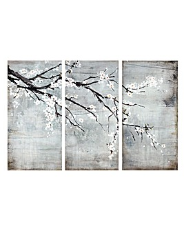 Arthouse Blossom Triptych Canvas