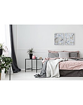 Arthouse Willow Blossom Canvas Set of 2