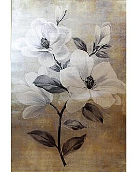 Arthouse Magnolia Metallic Canvas