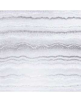 Arthouse Mineral White & Silver Wallpaper