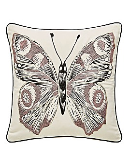 Etched Butterfly Cushion
