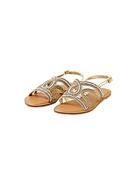 Monsoon BEADED EMBELLISHED SANDAL