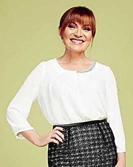 Lorraine Kelly Embellished Blouse