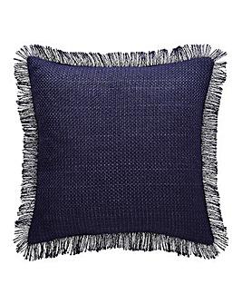 Woven Fringed Cushion