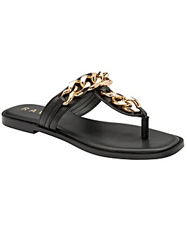 Ravel Serena Flat Sandals Standard D Fit