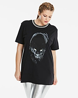 Simply Be Panther Top