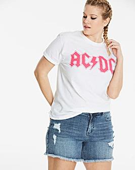 ACDC Slogan T-Shirt