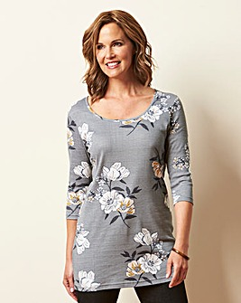 Berry Print Value Cotton Tunic