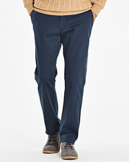 Navy Chino Trousers 31in