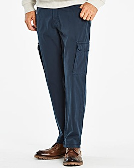 W&B Navy Cargo Trousers