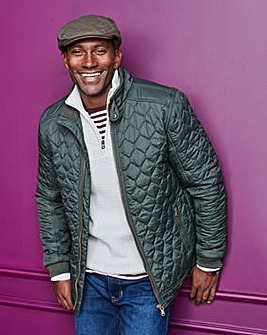 W&B Olive Quilted Jacket R