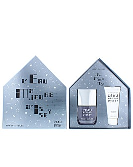 Issey Miyake LEau Majeure D'Issey Eau De Toilette Gift Set For Him